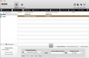 BetterTouchTool bietet frei konfigurierbare Tasten- und andere Einstellungen.